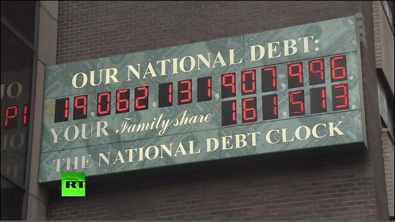 Какой долг у америки забыл