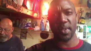 Uncle Larry's garage shares health tips from Interesting Outcomes Quis the Beast