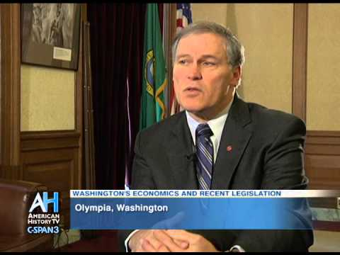 C-SPAN Cities Tour - Olympia: Interview with Gov. Jay Inslee