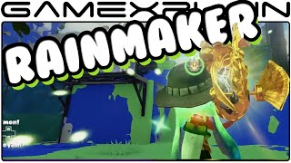 Splatoon - MORE Rainmaker Gameplay (60fps)