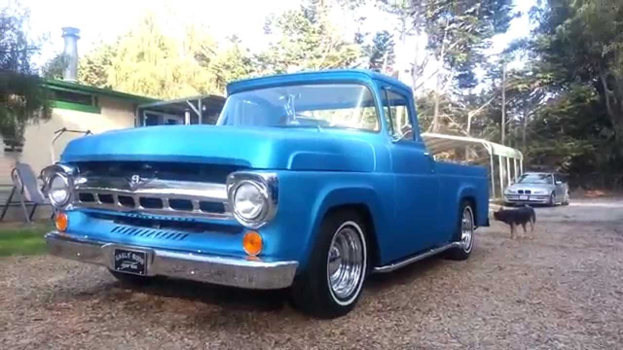 1957 Ford F 100 Pickup Styleside Youtube