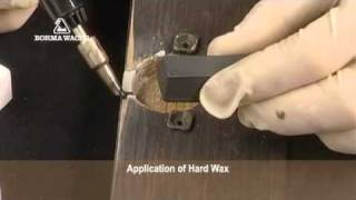 Reconstructing a lacquered wood panel