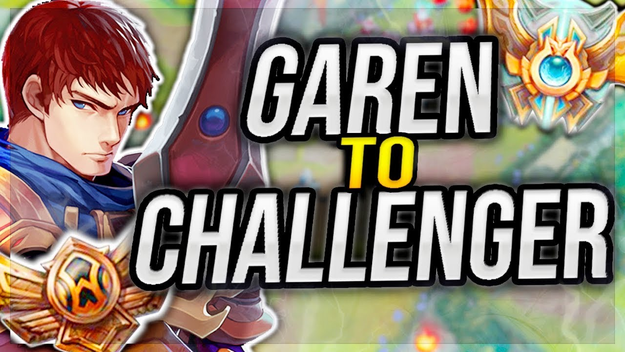 CLIMBING TO CHALLENGER ON THE EASIEST SERVER IN LOL WITH GAREN ONLY! -  League of Legends