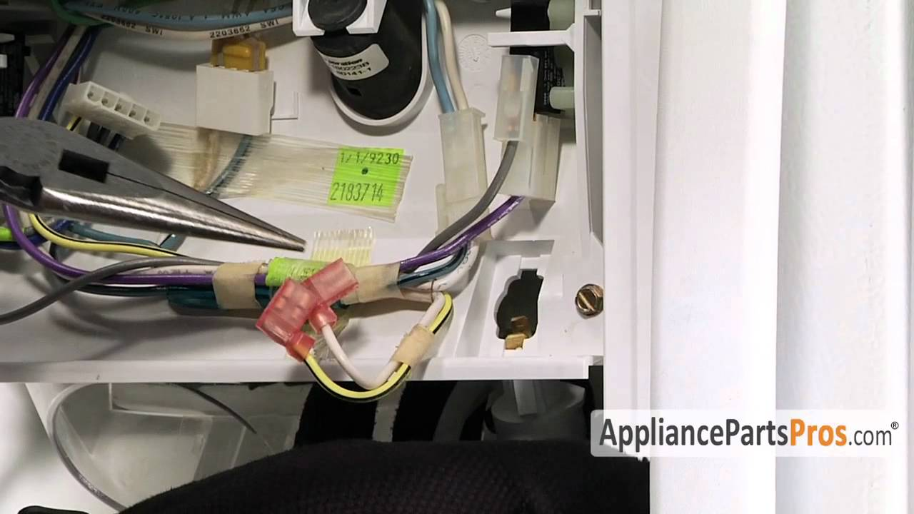 Refrigerator Light Socket How To Replace Youtube