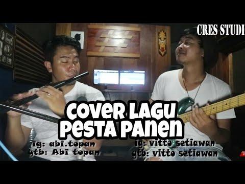 COVER LAGU PESTA PANEN VERSI SULING PARALON DAN GITAR