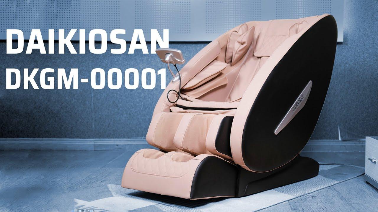 Trên tay ghế massage Daikiosan DKGM-00001: giải pháp massage tối ưu, hiện đại và thoải mái