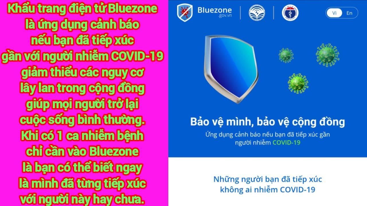 BlueZone Ứng Dụng Cảnh Báo Covid 19