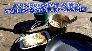 Biscuits and Gravy in a Stanley Adventure Cookset