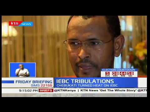 IEBC TRIBULATIONS: IEBC commissioner Prof. Abdi Guliye responds to Chebukati