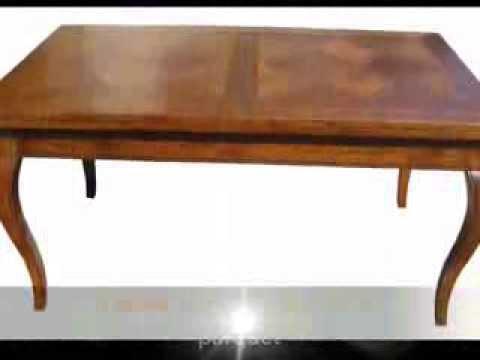produzione tavoli classici apribili allungabili su misura