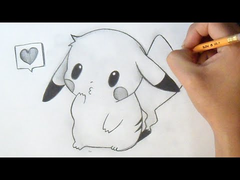 Cómo dibujar Chibi Pikachu | How to Draw Chibi - Pikachu Anime - YouTube