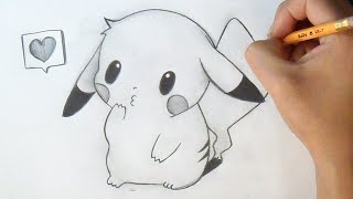 Cómo dibujar Chibi Pikachu | How to Draw Chibi - Pikachu Anime