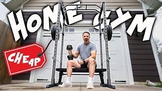 How To: Build a Buḋget Home Gym in 2021!