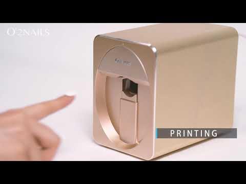 Gadget Oggetti Fantastici Regali per Donna  0 Stampante per unghie 3D portatile