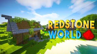 REDSTONE WORLD (w/ Redstone Houses, Redstone Towers, & Hidden Redstone Bases)