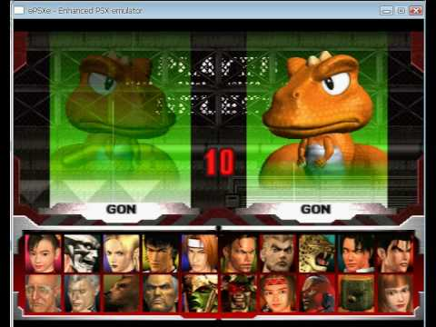 Tekken 3 All Characters Epsxe Youtube