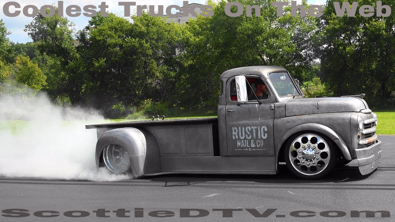 1948 Dodge Pilot House Radio Cab Street Truck Rustic Nail Co 2017 Pigeon Forge Rod Run Fall