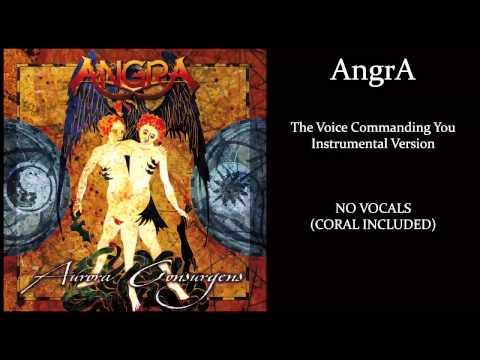 Angra - The Voice Commanding You - Karaoke (instrumental)