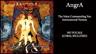Angra - The Voice Commanding You - Karaoke (guitar, bass, drums)
