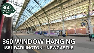 1S51 Darlington to Newcastle HST in 360º (View in 4K)