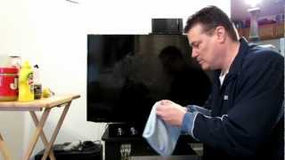 Flat Screen Clean™ Demonstration All in one take on a smart TV. #Screen Cleaner #Best screen cleaner