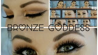 Bronze goddess ♕ makeup look ♕ Thumbnail