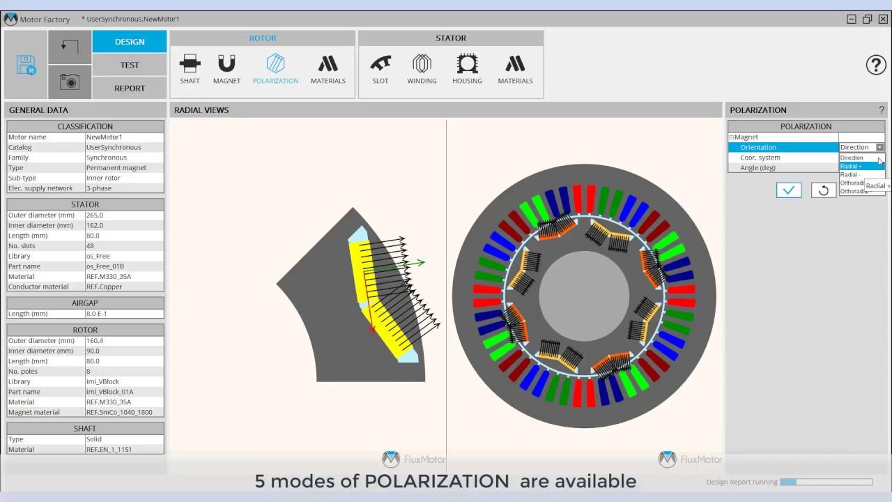 FluxMotor - Assembling and customizing a machine - Quick Tutorial
