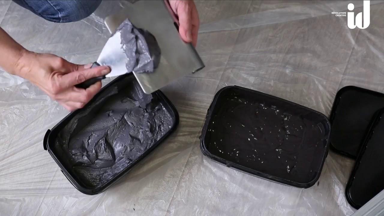 Como dar efecto cemento pulido a tus paredes o ba os youtube - Cemento decorativo para paredes ...