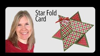 Star Fold Card