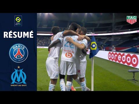 PARIS SAINT-GERMAIN - OLYMPIQUE DE MARSEILLE(0 - 1 ) - Résumé - (PARIS SG - OM) / 2020/2021