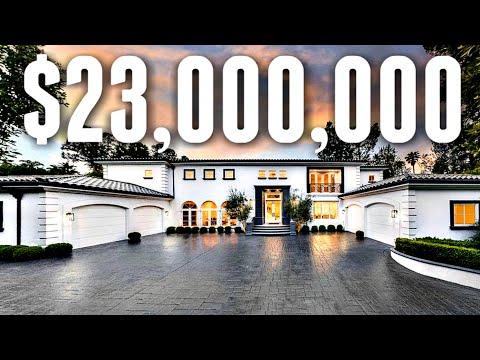 Inside a $23 Million Contemporary Beverly Hills Mega Mansion