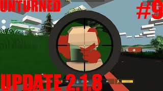 Unturned Update 2.1.8 - Unturned Singeplayer #9