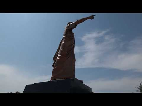 Kwame Nkrumah Statue Dedicated to the Legend - Ghana Nov 2017 Tour
