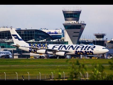 Morning Arrivals - Helsinki Airport