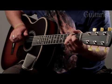 Larrivée P-03W & OM-03E 'Vintage' acoustic guitar demo