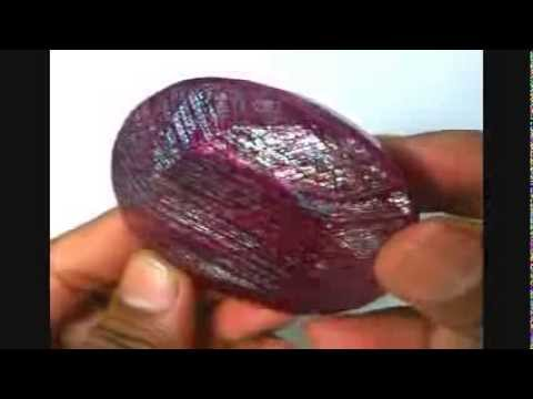 930 Ct Natural African Red Ruby with Beautiful Golden Green Shine gemstone