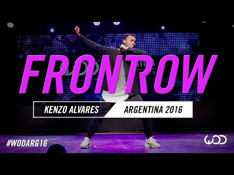 Kenzo Alvares | FRONTROW | World of Dance Argentina Qualifier | #WODARG16