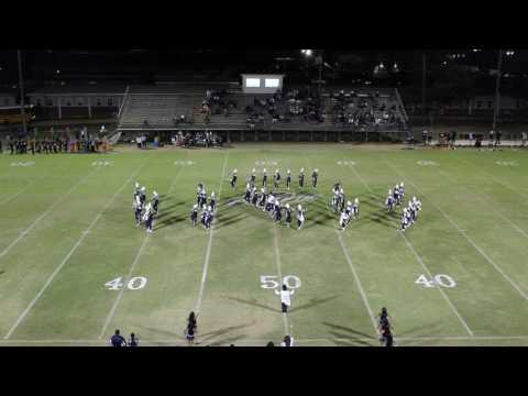 MPHS Tiger Band Halftime Show vs Purvis High School