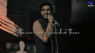 Orey Oru 😍 Aniruth 😇 Lovely Song 💞 Whatsapp Status Tamil Video