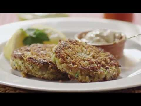 How to Make Zucchini Cakes | Zucchini Recipes | Allrecipes.com