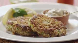 Zucchini Recipes - How To Make Zucchini Cakes
