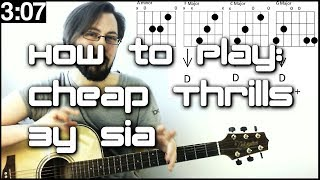 🎶 Learn Songs In SECONDS! How To Play Cheap Thrills - Sia (Guitar Lesson) 🎶 Video
