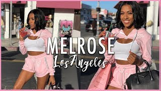 SHOPPING ON MELROSE AVENUE WITH...