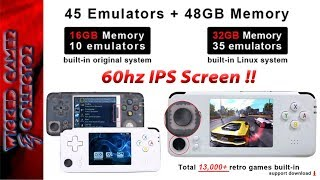 Retro Game Pro Version 3 - Dual Joystick 60hz IPS Versions PREVIEW