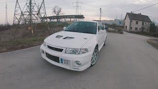 Mitsubishi EVO VI 🚗 Jobbkormány ⚠️ Radiation Free ☢️ JDM 🔰