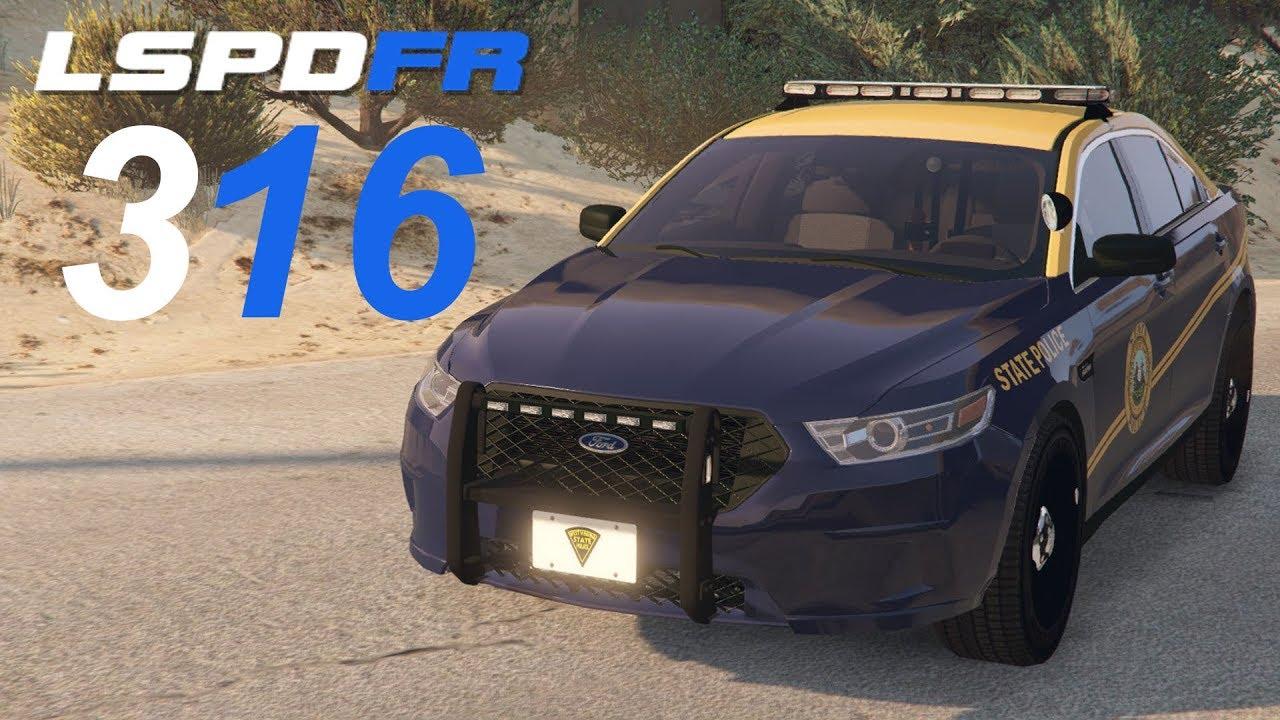 GTA 5 LSPDFR SP #316 West Virginia State Police
