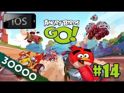 [30k] [iOS] Angry Birds Go! прохождение [#14] - Прощайте, воздушные гонки