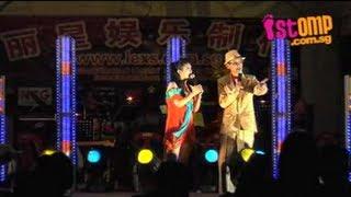Wang Lei & Tan Xiao Xin banter