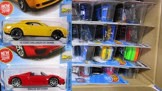 2018 P USA Hot Wheels Case Unboxing Video with Hot Wheels Super Treasure Hunt Score!