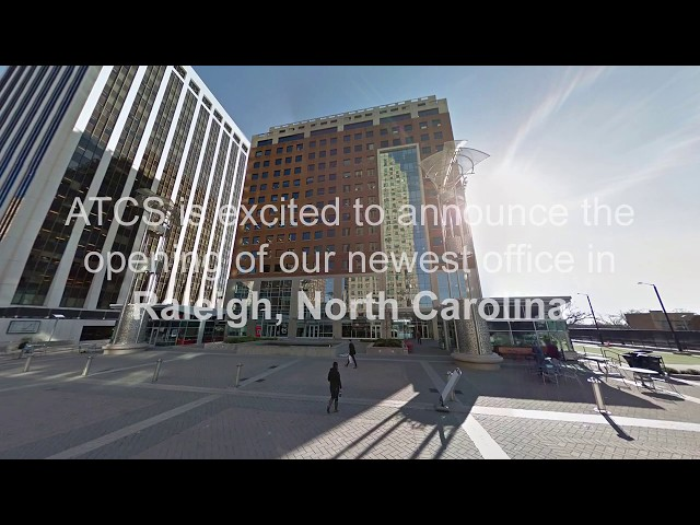ATCS' New Office in Raleigh, North Carolina